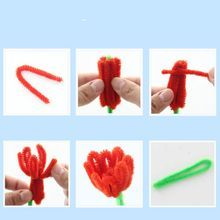 5 sets DIY Flower Educational Toy Craft Kit Kindergarten Kids Creative Room Decoration