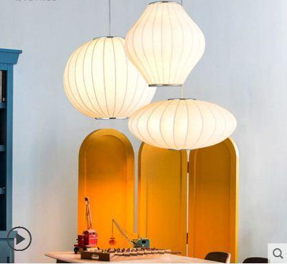 Japonês imitação de seda personalidade criativa de lanternas Chinesas bola redonda simples bar restaurante luzes
