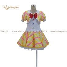 Aikatsu Kisstyle Moda! idol actividad otome arisugawa cos ropa cosplay traje de uniforme, modificado para requisitos particulares aceptado