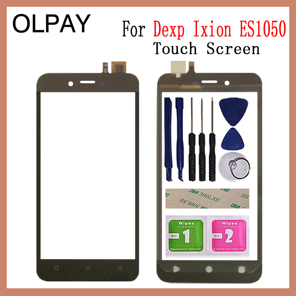 OLPYA 5.0'' Mobile Phone Touchscreen For Dexp Ixion ES1050 Touch Screen Glass Digitizer Panel Lens Sensor Glass Repair parts-in Mobile Phone Touch Panel from Cellphones & Telecommunications
