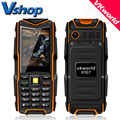 Vkworld piedra v3 v3 plus max v3s ip67 a prueba de agua teléfono móvil mayor de la energía Bank Espera Largo Al Aire Libre Dual SIM del teléfono celular 5200 mAh