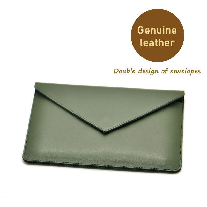 Конверт Сумка для ноутбука супер тонкий рукав чехол, натуральная кожа чехол для ноутбука Lenovo Йога книга 10,1 дюймов
