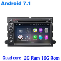Quad core Android 7.1 Car dvd gps for Fusion Explorer F150 Edge Expedition with 2G RAM wifi 4G bluetooth mirror link auto Stereo