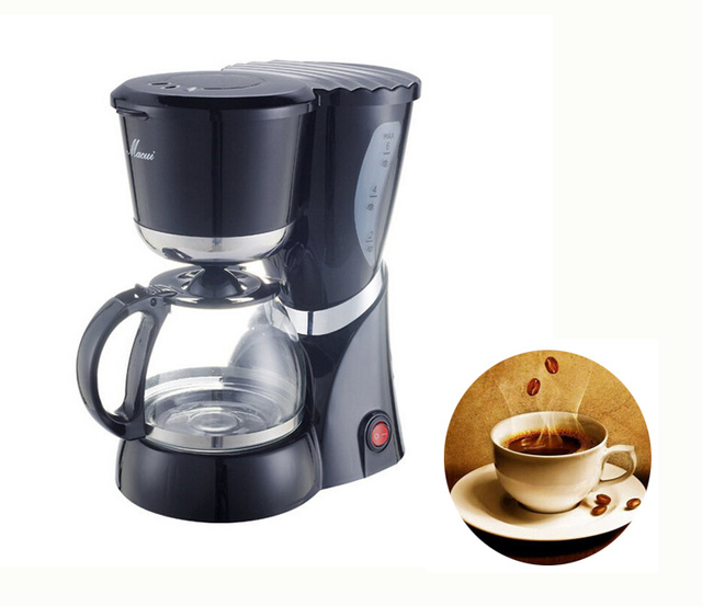Electric Coffee Maker 550w Food Grade Pp Safe Automatic Machine 220v Tea Cooking Tool