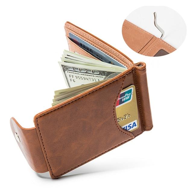 Lefur Men's PU Leather Wallet Card Holder 1