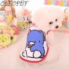 1pcs Spring summer penguin Cartoon Puppy Vest Clothing Cute Chihuahua Dog Clothes for Small Medium Dog Cat Pet Coat Jacket XS-XL