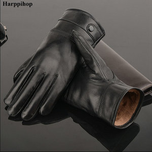 2018 leather gloves,Genuine Le