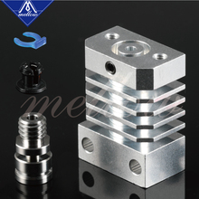 Newest Mellow Super Smooth Cr10 All Metal Titanium Heat Break Hotend Kit For Cr-10 Ender 3 Heatsink 3D Printers Micro Swiss