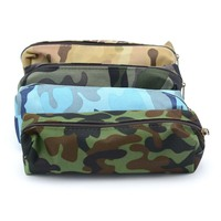 ISKYBOB 1 Pcs Camouflage Pencil Case For Boys And Girls School Supplies Zipper Pouch Coin Purses Cosmetic Bags