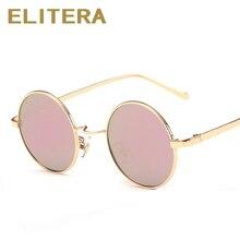 Ronda Retro gafas de Sol Mujeres Diseñador de la Marca de La Vendimia Gafas de Sol Mujeres Polarlized Sunglass Gafas de Sol Gafas lunette de soleil