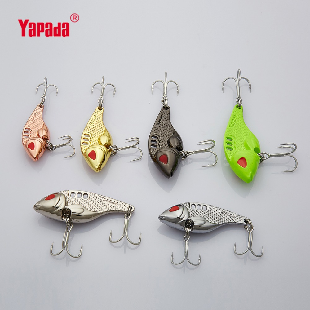 YAPADA VIB 301 Tycoon  10g/15g/20g/25g Treble HOOK 41mm/47mm/52mm/55mm Multicolor Metal VIB Fishing Lures yapada spoon 004 leech 7 5g 10g 15g 20g bkk hook 50mm 55mm 60mm 65mm metal spoon multicolor fishing lures