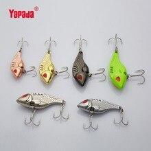 YAPADA VIB 301 Tycoon  10g/15g/20g/25g Treble HOOK 41mm/47mm/52mm/55mm Multicolor Metal VIB Fishing Lures
