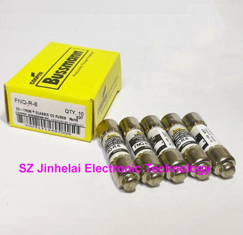 100%New and original FNQ-R-6 CC-TRON Fuses 6A 600V