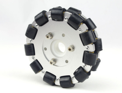 5-inch 127mm Dual Aluminum Omnidirectional Wheel Robot Competition Wheel