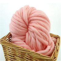 250g Knitting Spokes Yarn For Dyeing Super Thick Yarns Crochet Manual Sewing Hat Sweater Best New