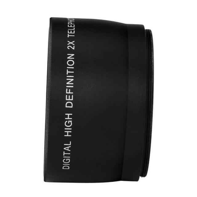 52mm 2.0x Telephoto Lens for Nikon D90 D80 D700 D3000 D3100 D3200 D5000 D5100 D5200 18-55mm DSLR Cameras 8