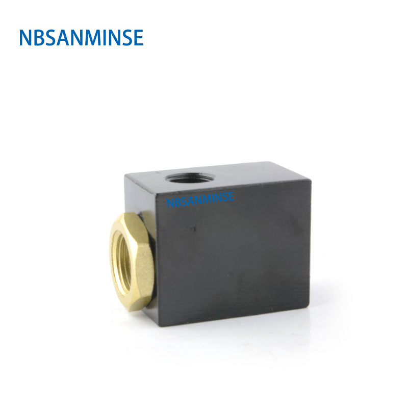 NBSANMINSE QE Quick Exhaust Valve 1 8 1 4 3 8 1 2 Pneumatic Air Valve Normal Temperature High Quality Valve in Valve from Home Improvement