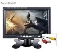 800X480 7LCD Monitor Display HDMI Monitor Computer Monitors 2 AV Input Screen Computer Monitor PC With VGA Interface