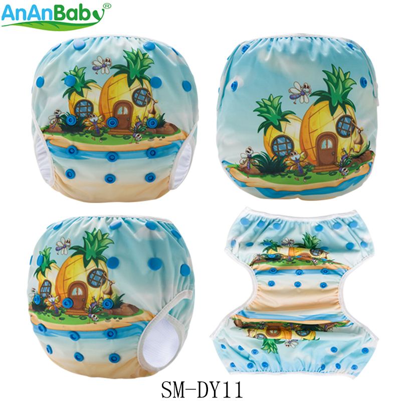 New Arrival!Baby Summer Swimming Diaper Baby Nappies Reusable Washable Waterproof PUL Swim Diaper For Pool Swimming