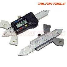 0-20 мм Цифровой сварочный шов из нержавеющей стали, измерительный прибор для сварки, контрольная линейка 60 70 80 90 градусов, измерение угла
