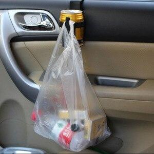 Image 2 - 1pcs 검은 자동차 컵 홀더 음료 병 홀더 스탠드 컨테이너 후크 자동차 트럭 인테리어, 창 대시 마운트