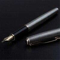 1 עטי עט נובע כסף משובץ יח'\חבילה סונטה זהב קליפ עט הסונטה כתיבת 13.3 * מהיר כתיבה מותג תיבה הקמעונאי 1.3 ס