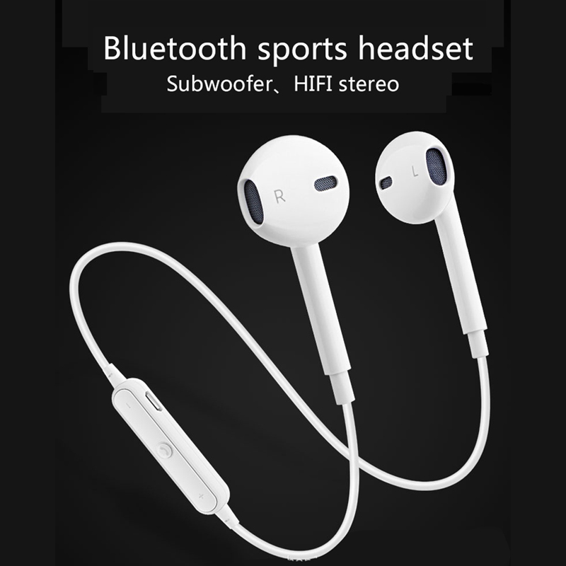 Bluetooth Earphone Stereo Headset With MIC Headphone Sports B In Ear ass Fone De Ouvido With Phone For iPhone xiaomi Headphone