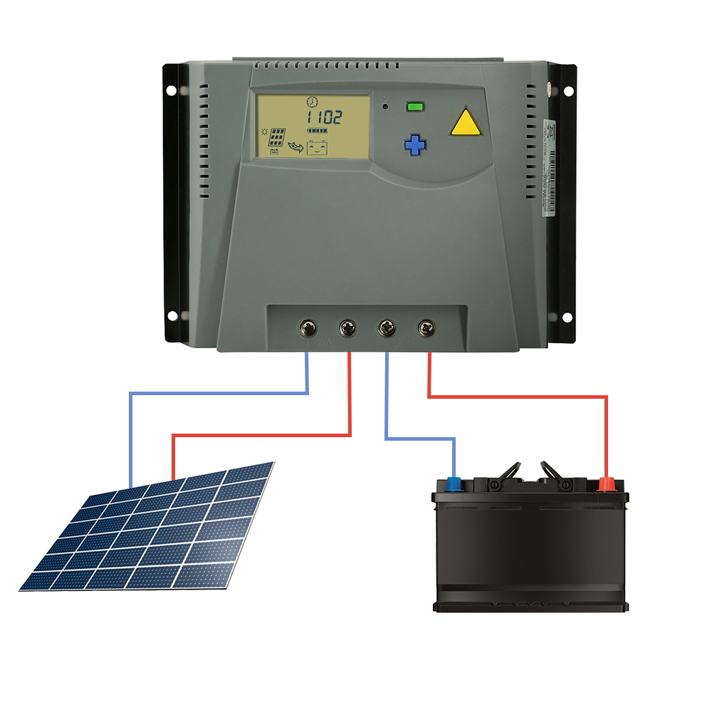 PWM 100A Solar Charger Controller 12V 24V Auto 48V LCD Display for Solar Panel Charge Regulator with Over Charge Protection New