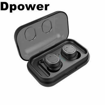 Touch Mini True Wireless Bluetooth 5.0 Earbuds Twins Headset Earphone Headphone Bluetooth headset sports headphones