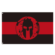 Spartan race Flag for decoration spartan flag polyester banner 90*150cm/3x5FT