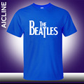 Novo the beatles Rock And roll T-shirt Engraçado Homens Humor Faculdade Impresso Mens A guitarra HipHop casuais de Manga Curta T camisa