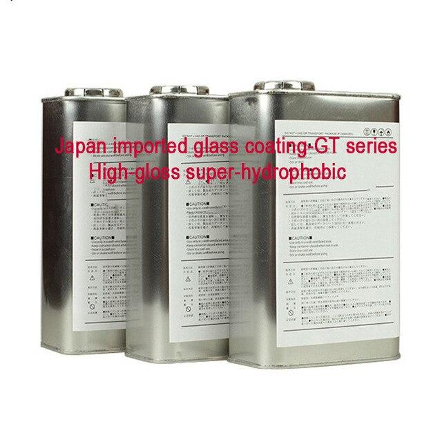 1L große paket GT serie super keramik auto beschichtung super hydrophobe beschichtung auto pflege produkt Kristallisation konzentration 98%