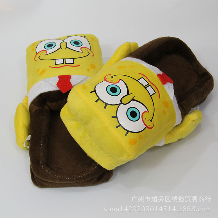 Despicable Me Minions Indoor Slippers Plush Stuffed Funny Slippers Flock Cosplay House Shoes Adult Winter Home Slipper