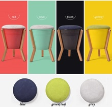 red green yellow color coffee stool villa garden game stool free shipping furniture world retail