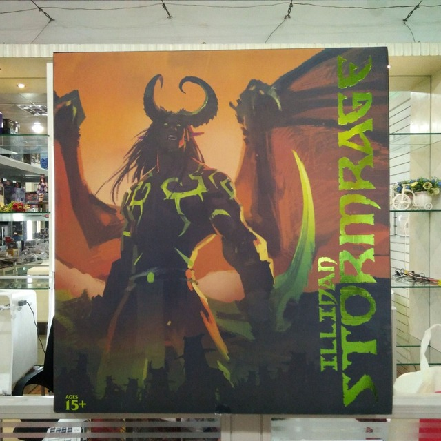 [New] Limited Large size 60cm WOW Illidan gk resin statue figure collection model Original box best gift 5