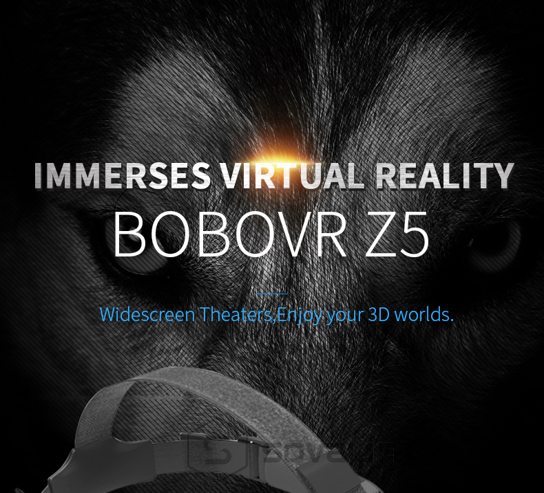 BOBOVR Z5 120 FOV VR Virtual Reality Glasses Remote 3D Android Cardboard VR 3D Headset Stereo Helmet for Smartphones 4.7-6.2