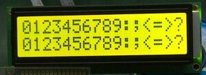 Image 1 - 5 cái lớn hơn LCD 1602 16*2 16x2 lớn nhân vật size lớn Màu Vàng xanh Màn hình hiển thị LCD module 122*44mm HD44780 SPLC780D LMB162GBY