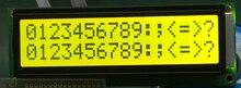 5pcs גדול יותר LCD 1602 16*2 16x2 גדול אופי גדול גודל צהוב ירוק lcd תצוגת מודול 122*44mm HD44780 SPLC780D LMB162GBY