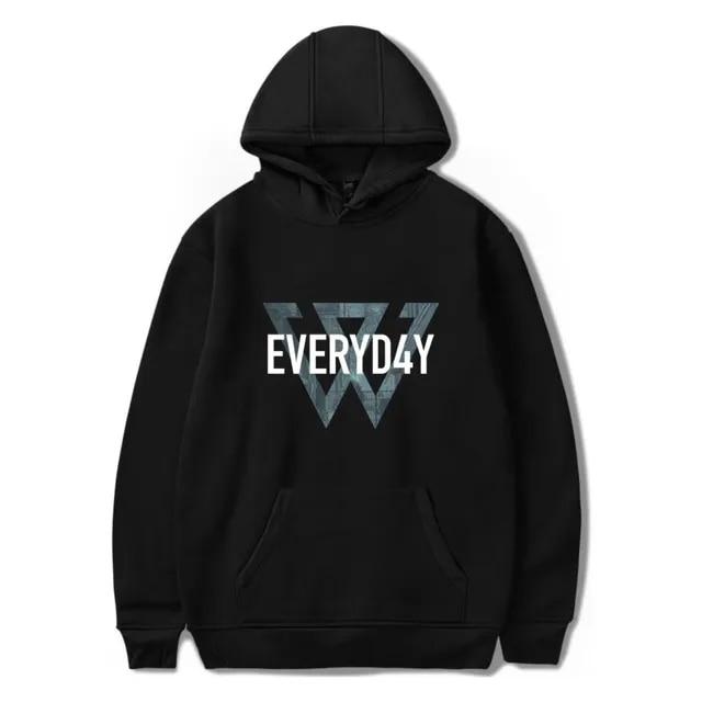 WINNER sweatshirts Black hoodies Men/Ladies fashion WINNER 3d printed hoodies Classic Casual hoodie coat men fleece hoodie Coats