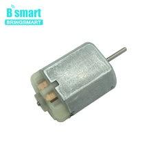 19bbbfcb02e Bringsmart 280 Unid Mini DC Motor eléctrico de alta velocidad pequeño Motor  DC 12 V 12500 rpm para electrónica puerta del coche .