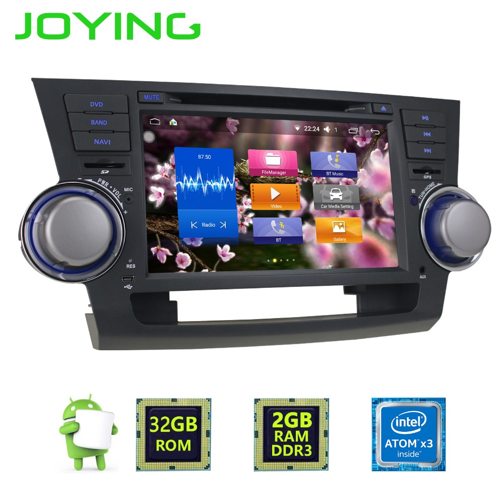 Joying 8 Quot 2 Din 2gb Android Car Radio Stereo Tape Recorder