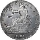 1884 Trade Dollar CO...