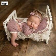 Детский костюм для фотосъемки; топы+ брюки+ шапка+ подушка с милым рисунком кролика; реквизит для фотосъемки новорожденных девочек