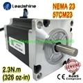 Новое поступление NEMA23 шаговый двигатель 57CM23 8 мм вал 5 А 2 3 Н. М крутящий момент 76 мм Длина 4 провода подлинный Leadshine лучшее качество