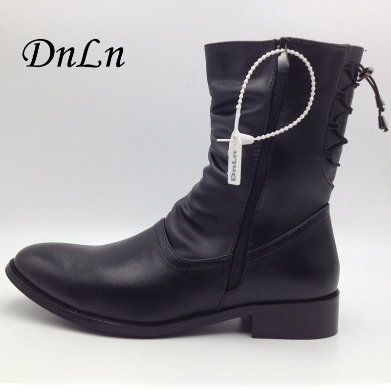 British style Boots Winter Spring Top quality Zip Soft Leather Men Black Boots,Handmade Snow Pointed Toe Shoes Men 2#D30 ...