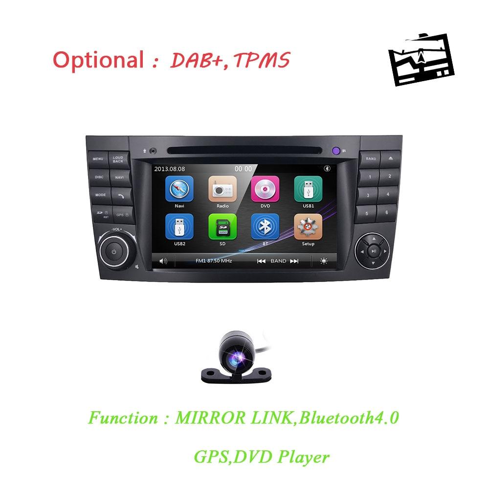 2din 7 pouces Voiture AUTO DVD-SPELER Joueur Pour Mercedes Benz W211 W219 W463 CLS350 CLS500 CLS55 E200 E220 E240 E270 E280 GPS RadioMAP