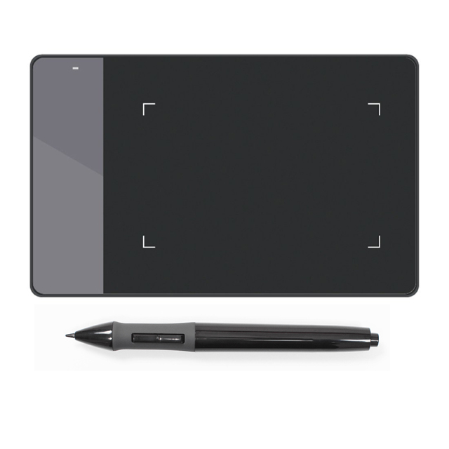 Huion 420 4x 2.23″ Professional Graphics Drawing Tablet OSU Signature Pad Digital Pen With Mini USB + Anti-fouling Glove Gift