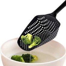 1 шт. Совок Ситечко Дуршлаг пластиковая суповая ложка для лапши вилки кулинарные лопаты паста фильтр ложка Овощной кухонные инструменты