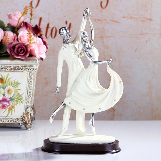 Contemporary Household Lovers Dance Art Furnishing Articles