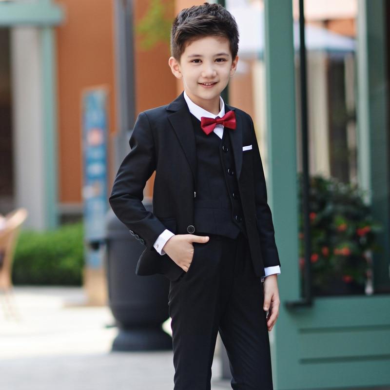 Boys Prom Suits Kid Boy Wedding Suit Boy Tuxedo Blazer Gentlemen ...
